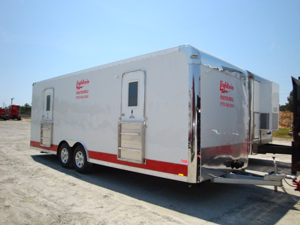 Bathroom Trailers And Honeywagons Lightnin Production Rentals Atlanta Cool Bathroom Trailers